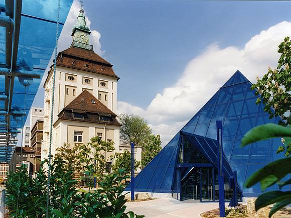 Merck Pyramide in Darmstadt